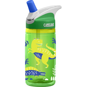 CamelBak eddy Insulated Trinkflasche Kids 400ml green dinos